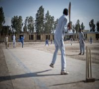 Two Afghan school cricketers killed after pitch hit by mortar fire