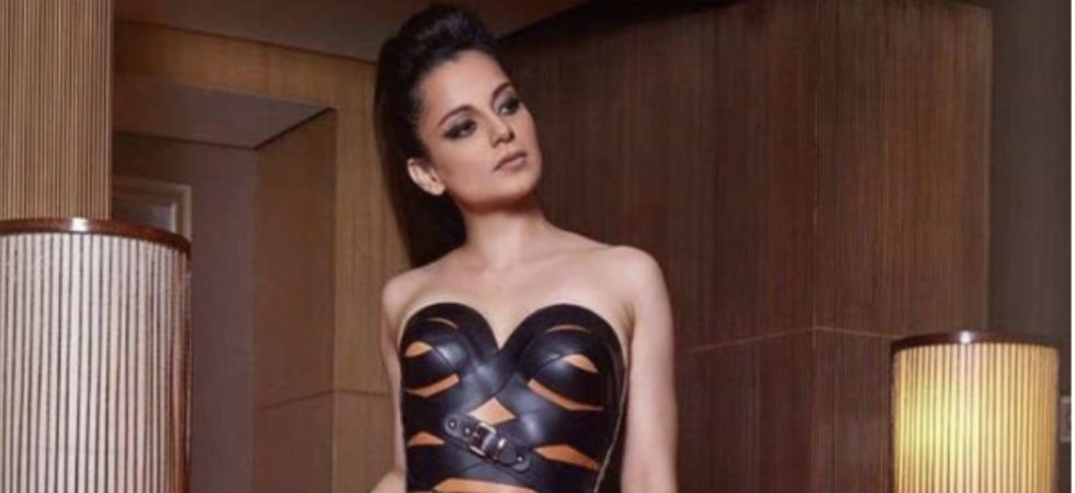 Kangana Ranaut's BOLD leather strap ensemble can swirl fashion storm
