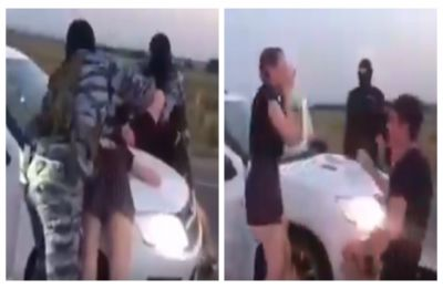 'Psychopath' boyfriend! Man proposes girlfriend at gunpoint, WATCH