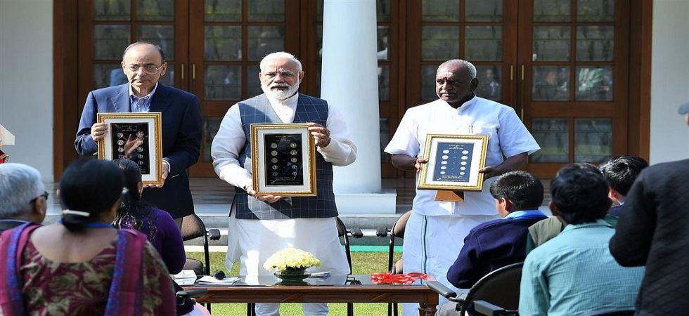 Prime Minister Narendra Modi unveiled new series of coins (File Photo)
