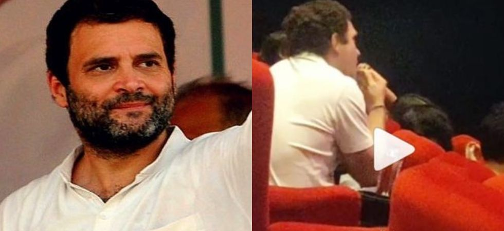 In Video: Rahul Gandhi watches Article 15 at movie theatre
