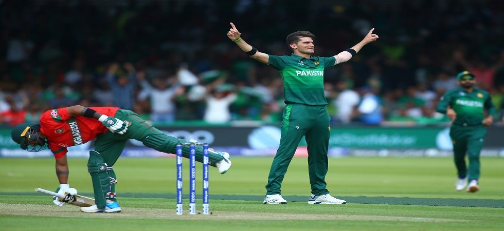 Shaheen Afridi took 6/35 as Pakistan secured a 94-run win against Bangladesh in the ICC Cricket World Cup 2019 clash in Lord's. (Image Credit: Getty Images)