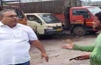 Caught on camera: Shiv Sena corporator assaults truck drivers in Mumbai