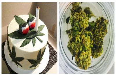 Nurses 'get high' after grandad accidentally offers them cannabis laced-cake
