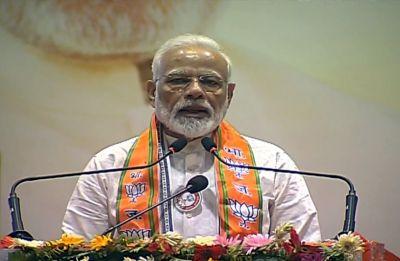 PM Modi launches BJP's countrywide membership drive in Varanasi, decodes Budget 2019