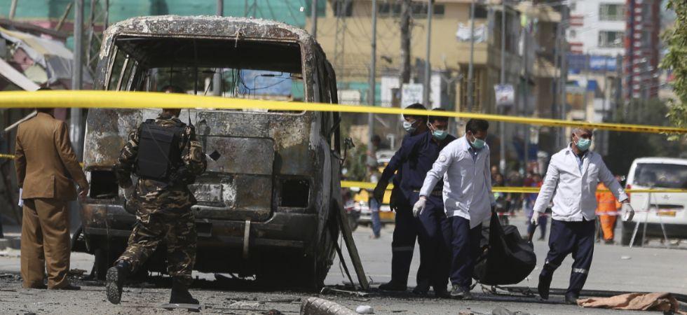afghan blast (Photo Credit: Twitter)