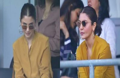 Anushka Sharma asking what is the signal for four at India vs Sri Lanka World Cup Match inspires hilarious memes
