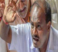 Karnataka CM Kumaraswamy to return today, JDS calls for legislators' meet