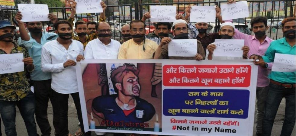 Tabrez Ansari was beaten up by a mob and a video showed that he was purportedly made to chant 'Jai Shri Ram' and 'Jai Hanuman'