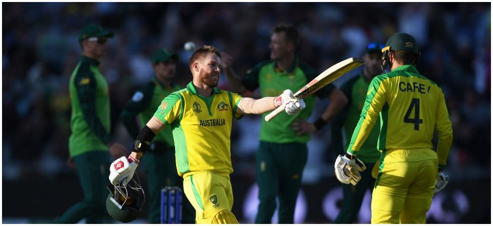 David Warner's century went in vain as South Africa defeated Australia by 10 runs to end their tournament on the ultimate high. (Image credit: Getty Images)