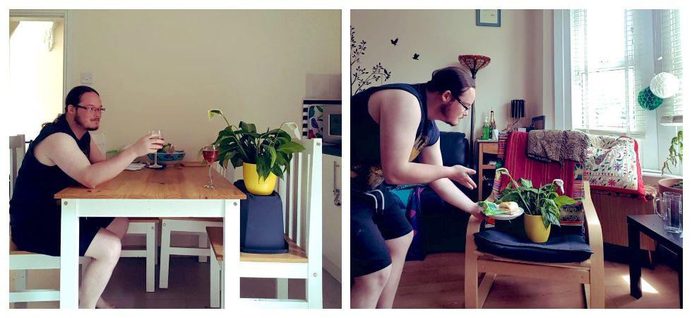 Man 'Plant-sitting' housemate's plant goes viral (Photo: Twitter/@laurenfrench)