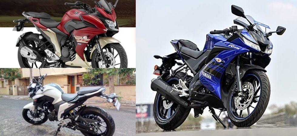 Yamaha R15 V3.0, Yamaha FZ25, Yamaha Fazer 25 (Photo Credit: Twitter)