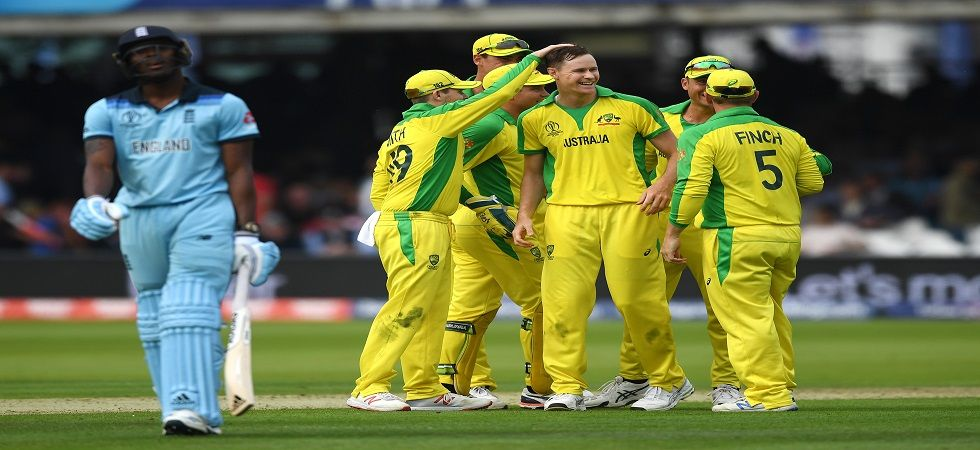 Australia's Jason Behrendorff had taken five wickets in the match against England in Lord's which the five-time champions won by 64 runs. (Image credit: Getty Images)
