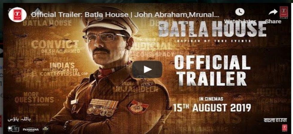 Batla House Trailer out! John Abraham shines again in tough-cop role