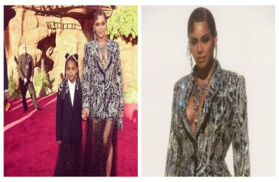The Lion King premiere: Beyoncé walks red carpet for first time in 3 years with striking Alexander McQueen Gown, SEE pics
