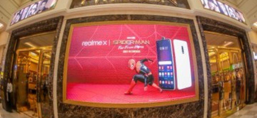 Realme X Spider-Man edition (File Photo)