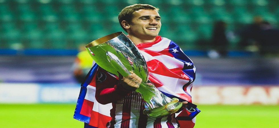 Antoine Griezmann had announced in May he would be leaving the Wanda Metropolitano (Atletico Madrid) after the end of the La Liga season. (Image credit: Twitter)