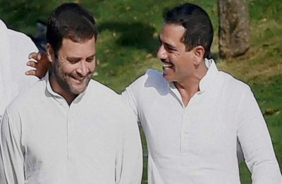 Robert Vadra all praises for Rahul Gandhi, vows to be with him in his 'service to nation'