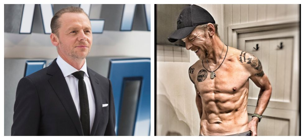 Simon Pegg opens up about undergoing physical transformation (Photo: Twitter)