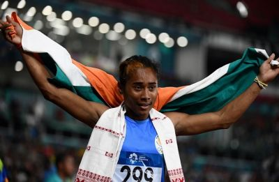 Mohammad Anas smashes own national record, Hima Das wins 3rd gold in space of two weeks
