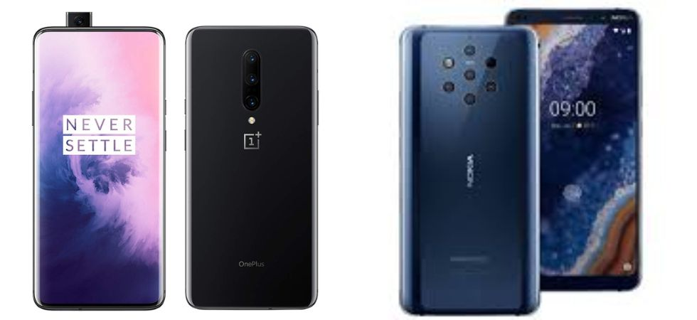 OnePlus 7 Pro vs Nokia 9 PureView (Photo Credit: Twitter)