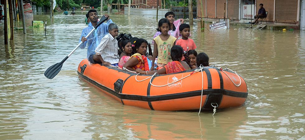 Rains bring Northeast India to a standstill