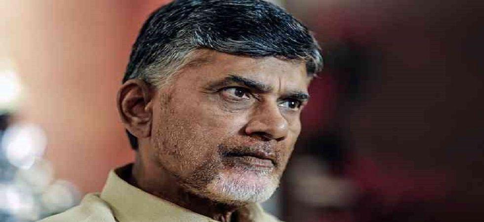 Former Andhra Pradesh chief minister Chandrababu Naidu