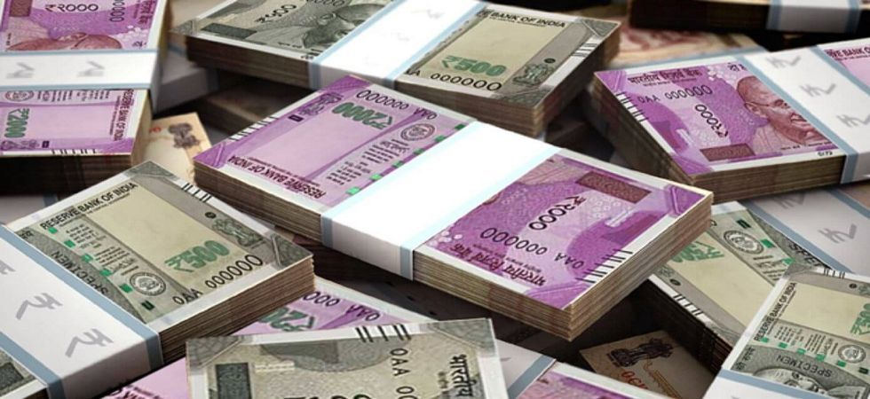 The rupee opened strong at 68.59 at the interbank forex market then gained further ground to touch 68.53 per dollar