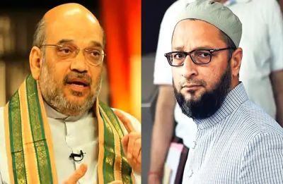 'Have patience to listen to others': Amit Shah to Owaisi over NIA Amendment Bill