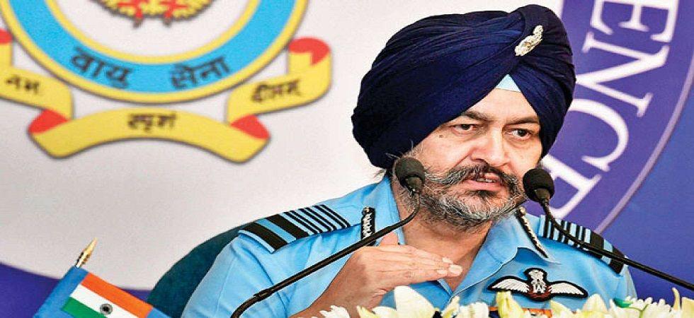 Air Force Chief BS Dhanoa. (File)