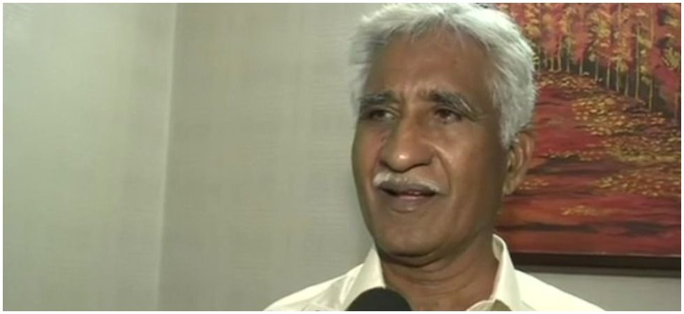 The ex-airman said that he found Rajnath Singh happy as a simple sepoy was giving all his earning. (Credit: ANI)