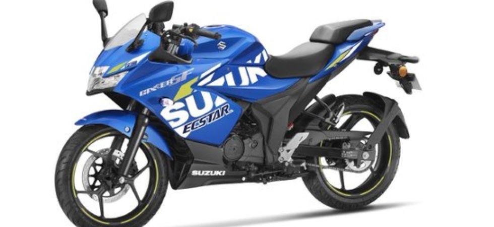 Suzuki Gixxer SF MotoGP edition (Photo Credit: Twitter)