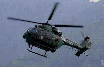 Army helicopter, with three persons on board, makes emergency landing in Assam