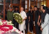 PM Modi, Sonia Gandhi among top politicians pay homage to Sheila Dikshit, last rites today