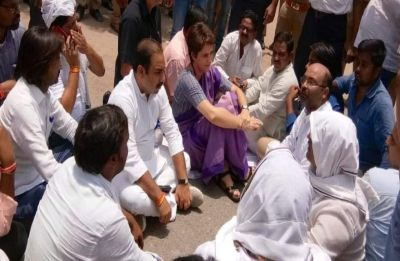 19 hrs later, Priyanka Gandhi refuses to fill bail bond, remains adamant on meeting Sonbhadra victims