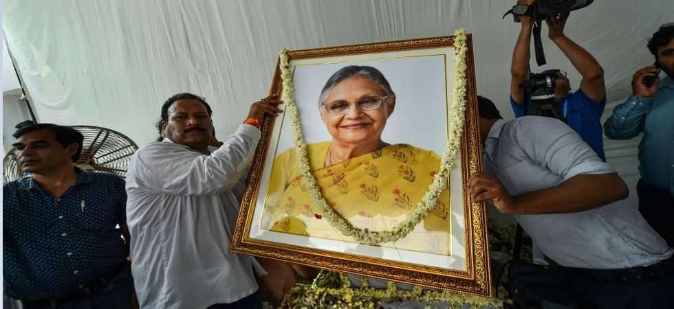 Last respects to former Delhi CM Sheila Dikshit (Photo Source: PTI)