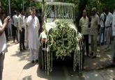 LIVE: Sheila Dikshit's mortal remains being taken to Congress headquarters