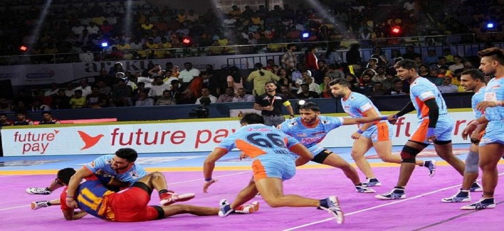 Bengal Warriors recorded their biggest win in the Pro Kabaddi League after beating UP Yoddha 48-17 in the 2019 edition of the tournament. (Image credit: Twitter)