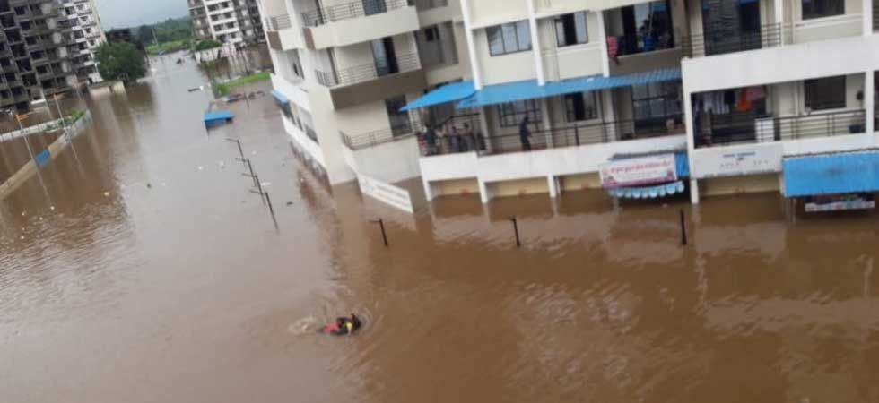 Incessant rains brought life in Mumbai and its neighbouring areas to a standstill. (Twitter)