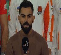 Virat Kohli Sings National Anthem Ahead Of Pro Kabaddi League Match