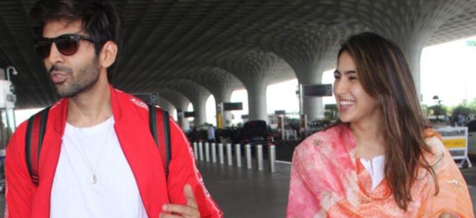 Kartik Aaryan and Sara Ali Khan.