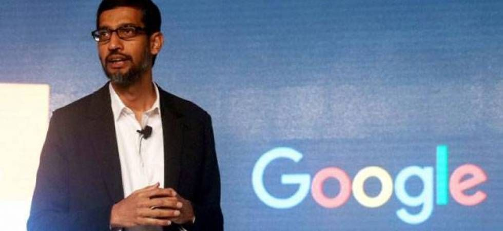 Is Google searching for CEO Sundar Pichai's replacement (file photo)
