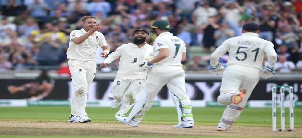 Stuart Broad became the ninth England bowler to take 100 wickets against Australia during the Ashes contest in Edgbaston. (Image credit: Getty Images)