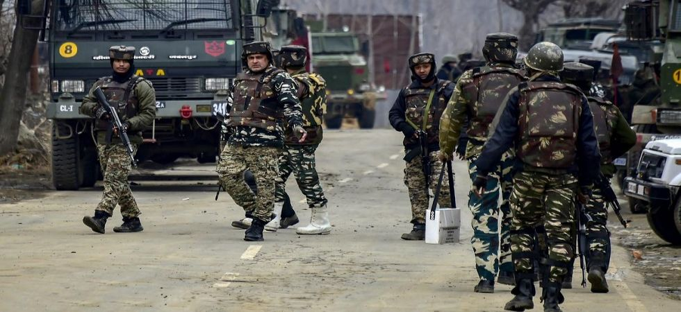 Paramilitary forces in Jammu and Kashmir