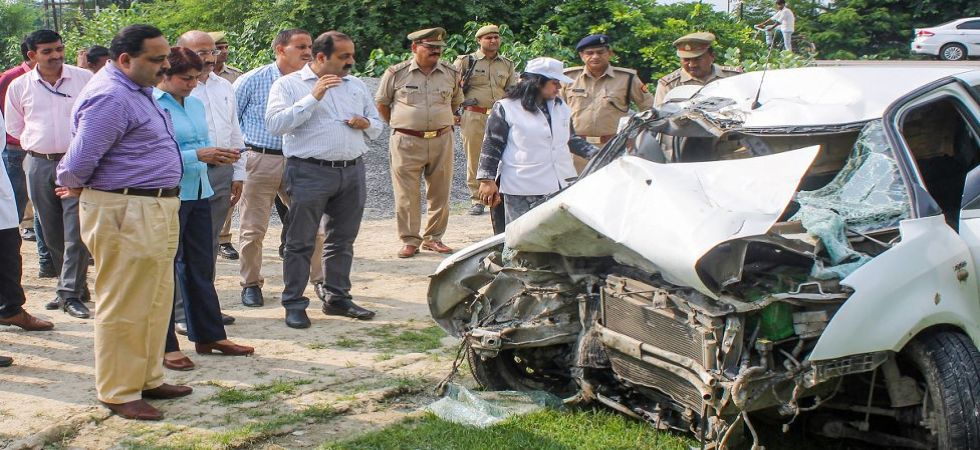 Raebareli accident scene being recreated by CBI and forensic team (Photo Source: PTI)