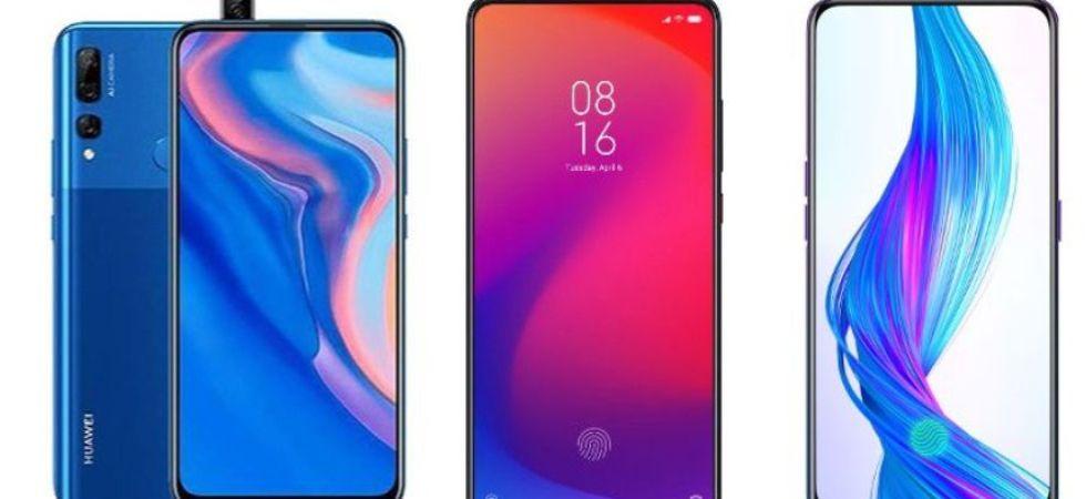 Huawei Y9 Prime 2019 Vs Redmi K20 Vs Realme X (File Photo)