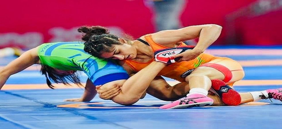 Vinesh Phogat won her third consecutive gold medal in the 53kg category after winning the Poland Open wrestling tournament. (Image credit: Twitter)