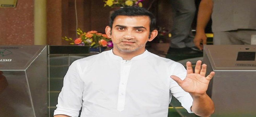 Gautam Gambhir has lashed out at Shahid Afridi for his tweet on the Kashmir bifurcation issue. (Image credit: Twitter)