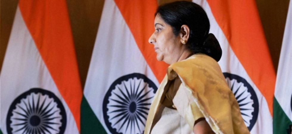 Just hours earlier, Sushma Swaraj had tweeted to congratulate Prime Minister Narendra Modi after the Centre's move to revoke special status for Jammu and Kashmir and bifurcate the border state into two Union Territories secured Parliament's approval. (Fil
