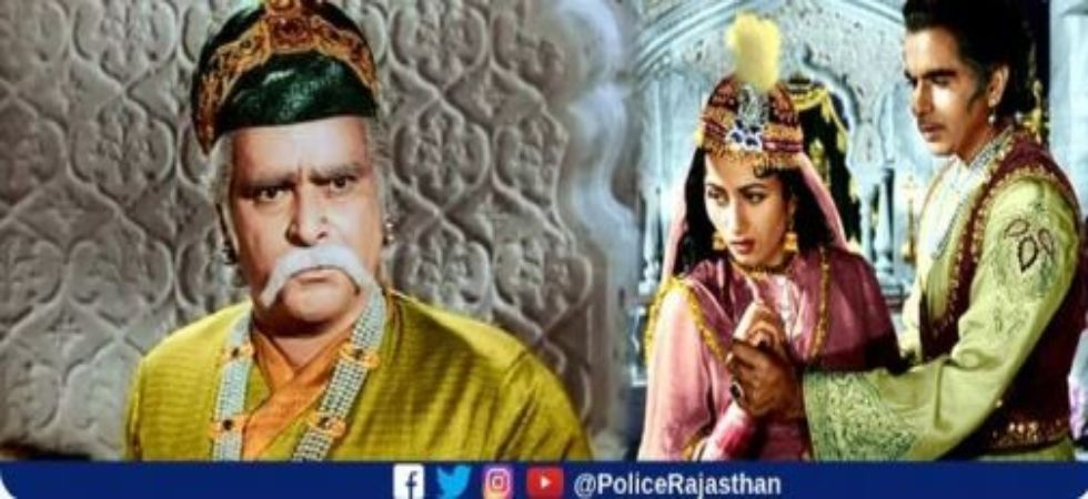 Rajasthan Police revists 'Mughal-E-Azam' era to warn people against honour killing